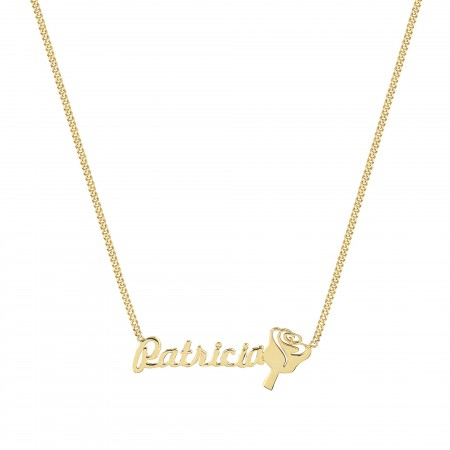PETITE JEWELRY - ROSE - Personalized Name Necklace (1)