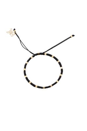 COMFORT ZONE - RUBIK - BLACK - Knot Bracelet