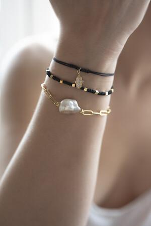 COMFORT ZONE - RUBIK - BLACK - Knot Bracelet (1)