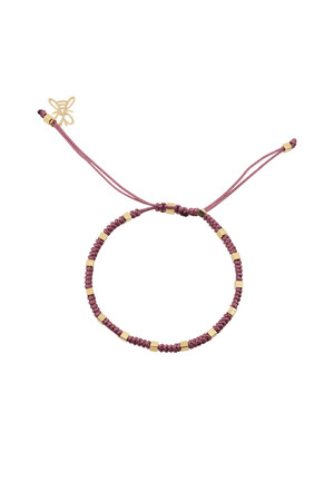 COMFORT ZONE - RUBIK - LILA - Knot Bracelet