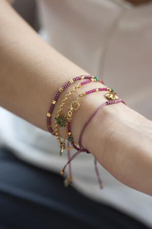 COMFORT ZONE - RUBIK - LILA - Knot Bracelet (1)