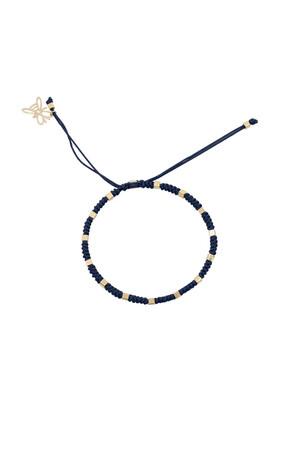 COMFORT ZONE - RUBIK - NAVY - Knot Bracelet
