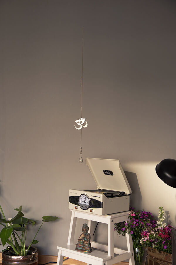 SACRED SOUND - Om Sign Wall Hanging