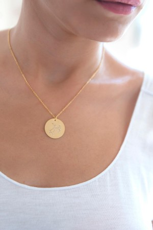 SAGITTARIUS - Personalized Constellation Necklace - Thumbnail