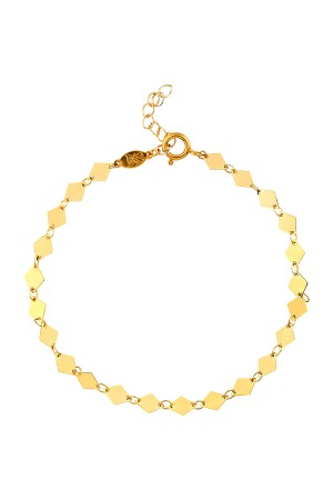 COMFORT ZONE - SANTA MONICA - Gold Filled Anklet