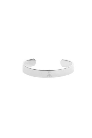 SATTVA CUFF - Buddha Engraved Bracelet - Thumbnail