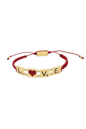 PLAYGROUND - SCRABBLE - Pull Cord Bracelet