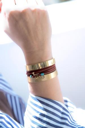 COMFORT ZONE - SCREW - Wrap Bracelet (1)