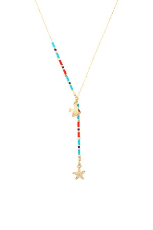 PLAYGROUND - SEA SAND - Minimalistic Beaded Necklace