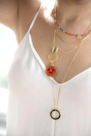 PETIT CHARM - SELF LOVE - Red - Madalyon Charm (1)