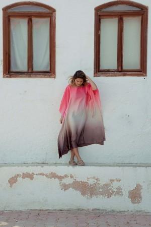 HAPPY SEASONS - SHADES - İpek Elbise