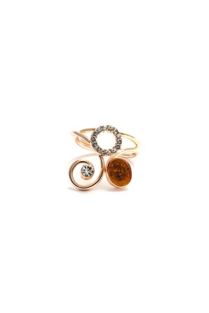 COMFORT ZONE - SHINY CURVES - Adjustable Ring