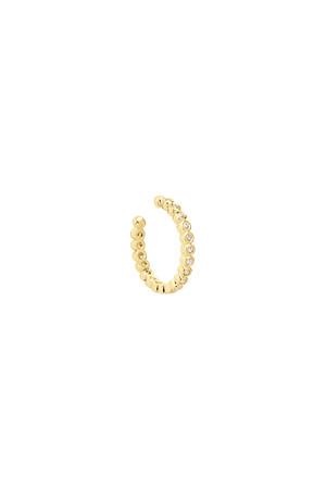 COMFORT ZONE - SHINY - Earcuff Earrings