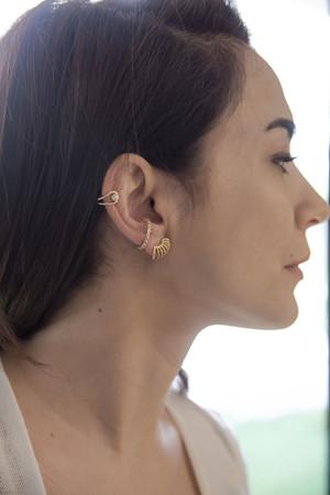 COMFORT ZONE - SHINY - Earcuff Earrings (1)