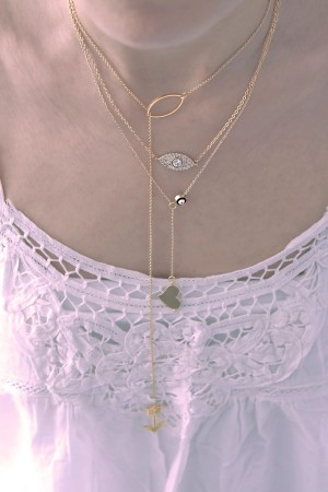 BAZAAR - SHINY EYE - Pendant Necklace (1)