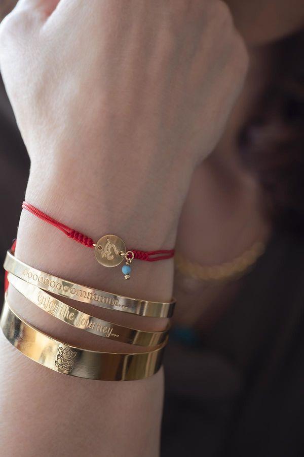 SHIVA - Ganesha Engraved Cuff