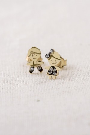 PETITE FAMILY - SHOW TIME - Boy and Girl Earrings