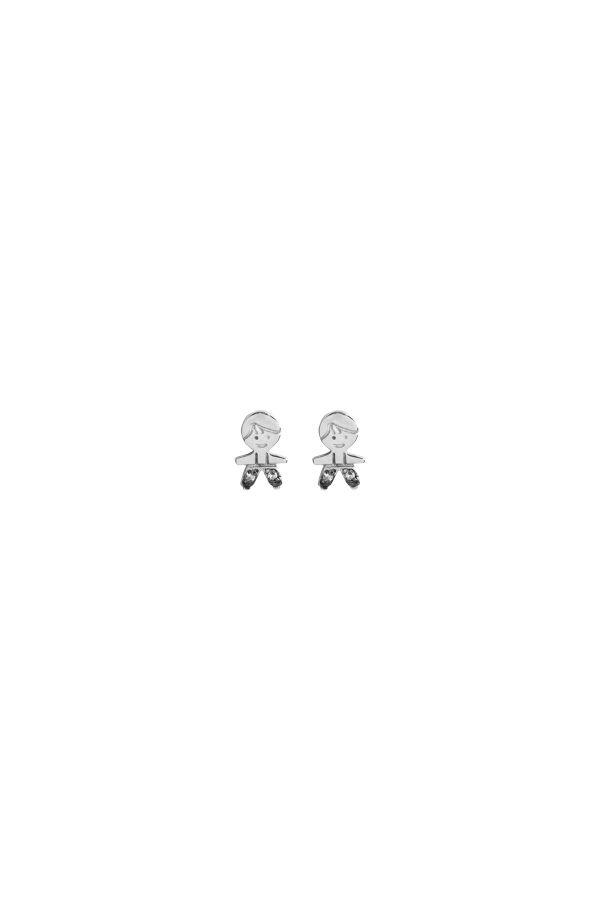 SHOW YOUR PEPES - Erkek Çocuk Figürlü Küpe