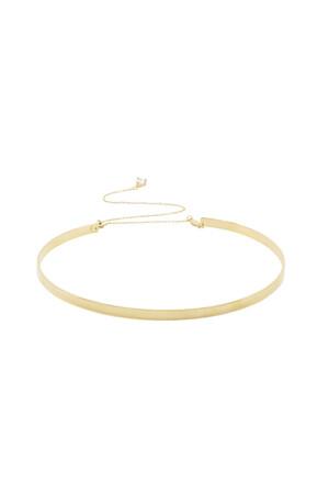 COMFORT ZONE - SIMPLE CHOKER - Regular Choker Necklace