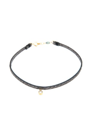 BAZAAR - SINGLE DIAMOND - Choker Necklace