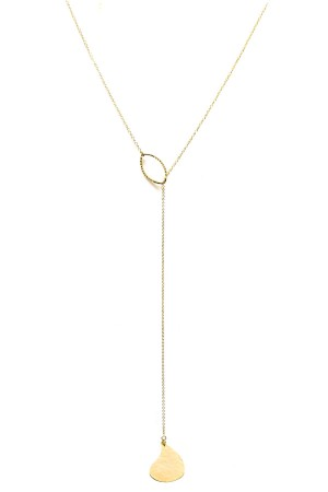 COMFORT ZONE - SINGLE DROP - Lariat Necklace