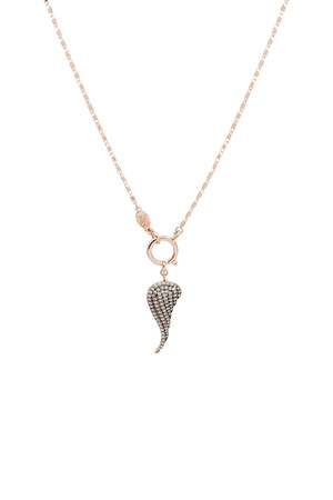 SHOW TIME - SINGLE WING - Pendant Necklace