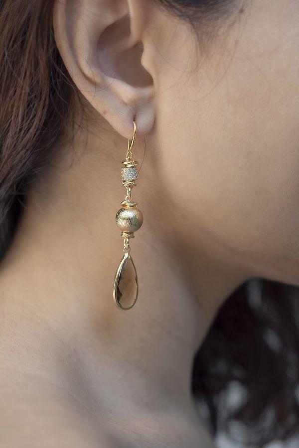 SMOKEY - Drop Earrings