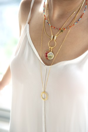 SNAKE - Customized Chain Necklace - Thumbnail