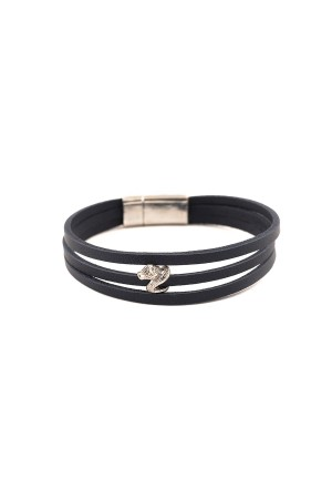 MANLY - SNAKE - Leather Bracelet