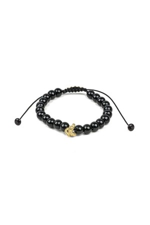 MANLY - SNAKE - Onyx Bracelet for Men