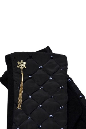 HAPPY SEASONS - SNOWFLAKE - Quilted Hand Gloves (1)