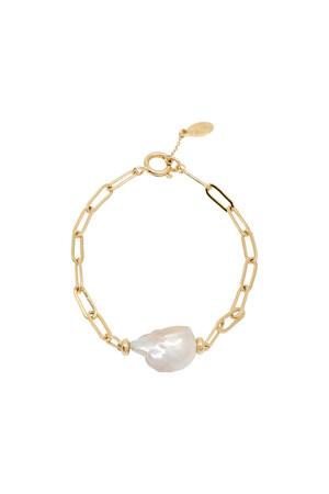 SHOW TIME - SOUTH SEA - Baroque Pearl Bracelet