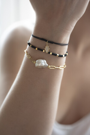 SHOW TIME - SOUTH SEA - Baroque Pearl Bracelet (1)