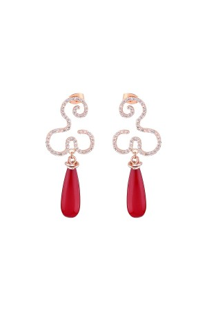 SHOW TIME - SPARKLING FLOW - Statement Earrings