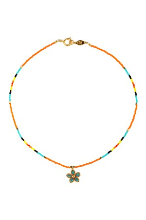 PLAYGROUND - SPRING BREAK - Multicolor Beaded Necklace