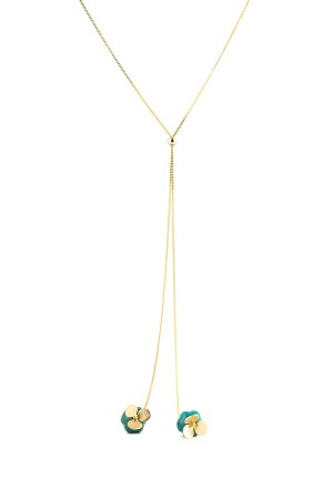 COMFORT ZONE - SPRING CLOVER - Lariat Necklace