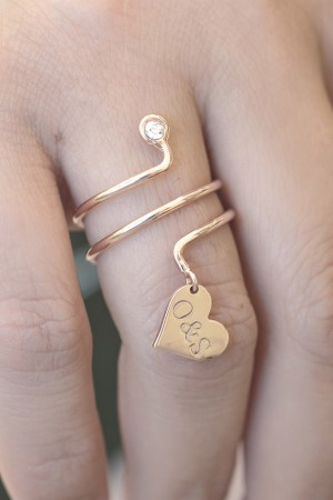 PETITE JEWELRY - SPRING - Personalized Ring