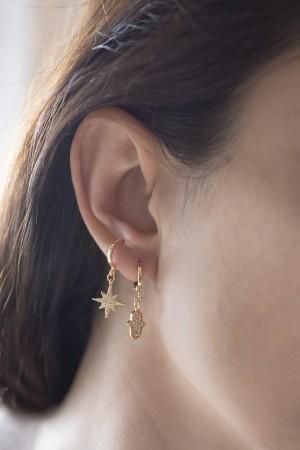 PLAYGROUND - STARBURST - Kutup Yıldızı Küpe (1)