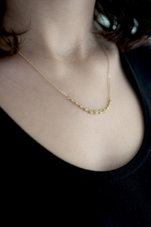 COMFORT ZONE - STARDUST - Dainty CZ Necklace (1)