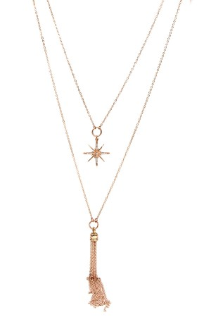 SHOW TIME - STARRY NIGHT - Delicate Layered Necklace