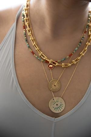 STIR ME UP - Chuncky Chain Necklace - Thumbnail