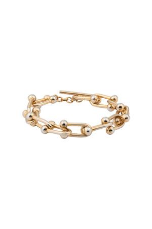 COMFORT ZONE - STIRRUP - Bold Chain Bracelet