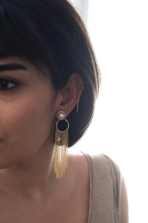COMFORT ZONE - STYLISH - Asymmetrical Earrings (1)
