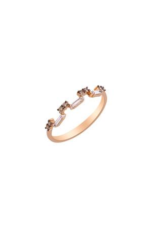 PETITE LUXE - SUENO - Baguette Diamond Ring