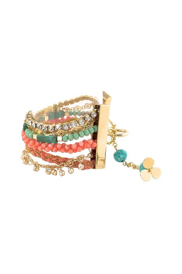 SUMMER CLOVER - Layered Bracelet