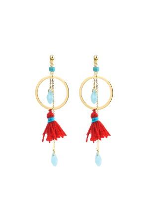 SHOW TIME - SUMMER JOY - Tassel Earrings