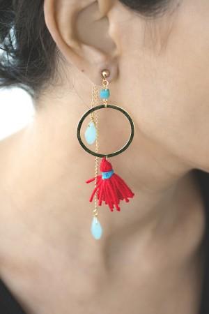 SHOW TIME - SUMMER JOY - Tassel Earrings (1)