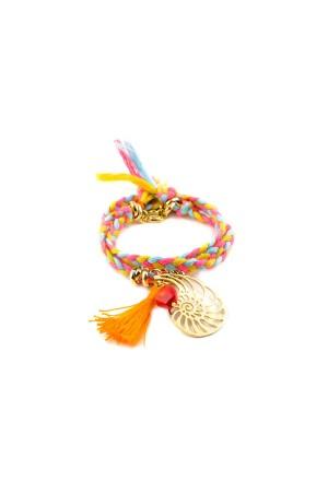 BAZAAR - SUMMER NAUTILUS - Charm Bracelet