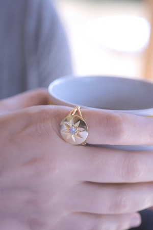 SHOW TIME - SUMMER STAR - Statement Ring (1)