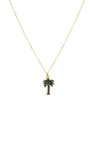 PLAYGROUND - SUMMER TIME - Palm Tree Necklace